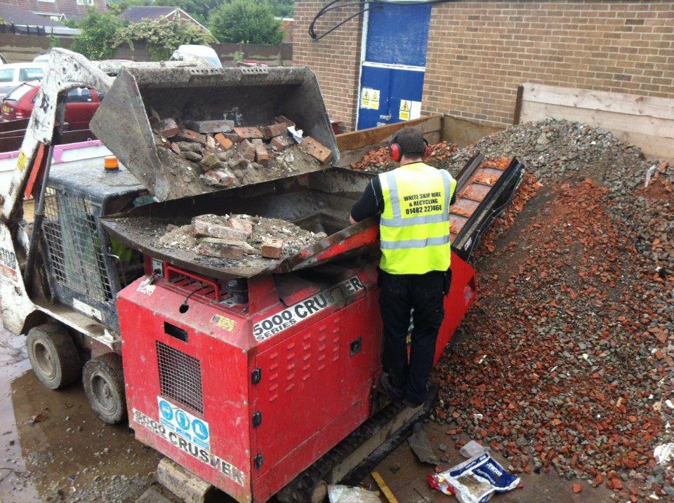 Crushed stone Hull